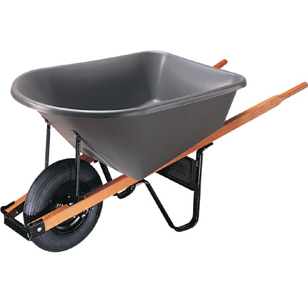 True Temper Homeowner/Contractor Wheelbarrow