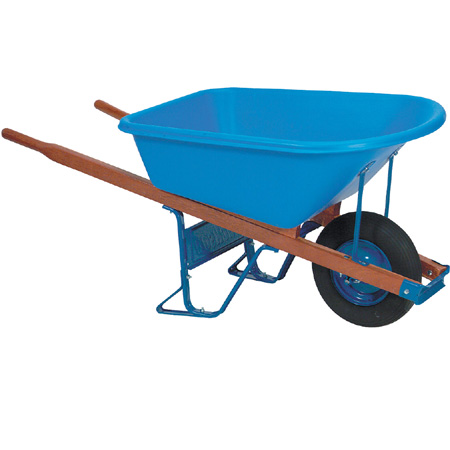 True Temper 5-3/4 cu. ft. Contractor Wheelbarrow