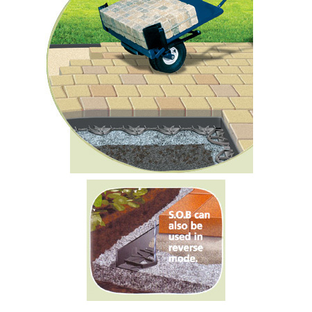 Son of the B.E.A.S.T. Low-Profile Plastic Paver Edging