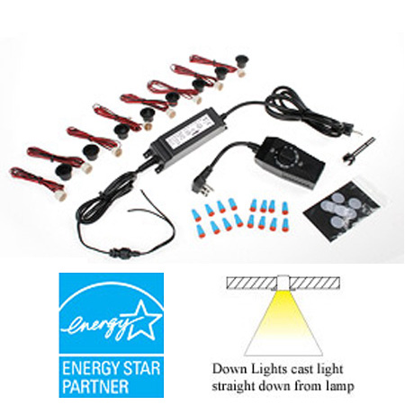 DEKOR - Exterior LED Down Light Kit