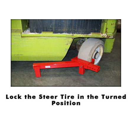 Cushion Tire Lift Lock