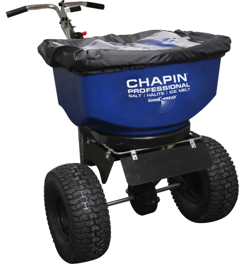 Chapin 100 lb Salt & Ice Melt Spreader